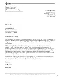 cover letter for business sample cover letter for executive assistant gallery cover letter
