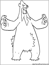ice pokemon coloring pages free printable colouring pages