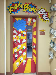 superhero classroom doors super heroes pinterest superhero