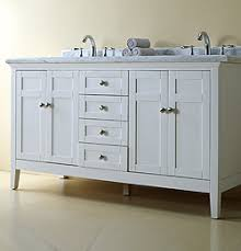 White Bathroom Vanity With Granite Top by Reni White Double Vanity 60 1000 Incl Granite Counter Top And