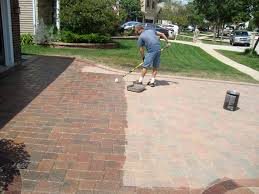 How To Seal A Paver Patio by Brick Paver Patio Cleaning Sealing Brick Paver Sidewalk Cleaning