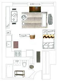 studio apartment floor plans trendy incredible bedroom floor