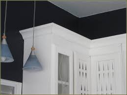 Molding On Kitchen Cabinets Crown Moulding Ideas The Power Of Poly Lightweight Crown
