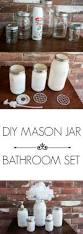 best 25 mason jar bathroom ideas only on pinterest mason jar