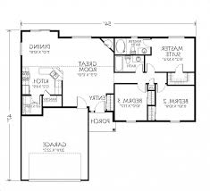 Small 2 Bedroom Cabin Plans Home Design 5 Bedroom House Plans Single Story Designs Excerpt