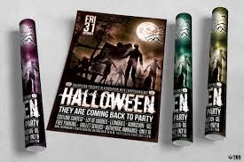 halloween flyer background free halloween flyer template v16 scary design psd templates