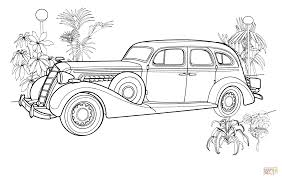 Old Ford Truck Coloring Pages - vintage car coloring page free printable coloring pages