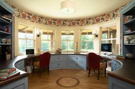 Bay Window Desk Pleasing Rounded Room Home Office Victorian With Bay Window