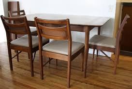 Mid Century Modern Dining Room Tables Mid Century Modern Dining Table And Chairs U2013 American By