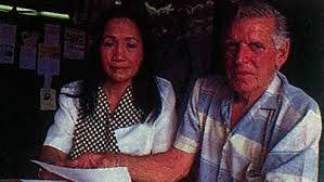 The Shameful Story of Australia     s Serial Husbands The Sydney Morning Herald  quot Filipina women are more loving  quot   Roy Fittler  with wife Gelna
