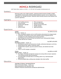 Customer Service Cashier Resume Examples   resumes for cashiers