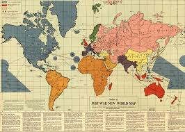 The Post War II New World Order Map  A Proposal to Re arrange the