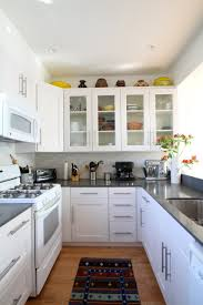 Installing Kitchen Cabinets Diy by Installing Kitchen Cabinets With Lighter Wood For Open Shelves And