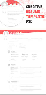 Beautiful Free Resume  CV  Templates in Ai  Indesign  amp  PSD Formats TinyDesignr Free Cv Template Eps Resume   CV Templates