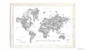 World Map Pinboard by Detailed Info How To Order A Framed Push Pin Map From Artisan