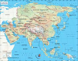 Map Of Europe And Africa by Asia Map With Countries Map Of Asia Continent Clickable To Asian