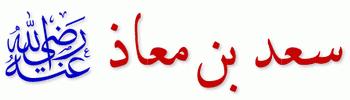 الصحابي الجلليل سعد بن معاذ(م)