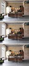 kitchen design idea adjustable height kitchen island contemporist