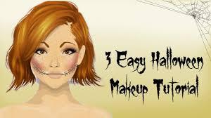 easy halloween makeup tutorial stardoll makeup tutorial for non