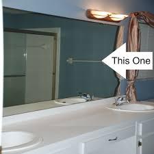 Bathroom Mirror Design Ideas Frameless Bathroom Mirror Bathroom Mirror Ideas On Wall Portrait