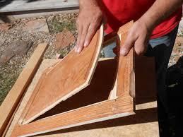 Hickory Kitchen Cabinet Doors Diy Changing Solid Cabinet Doors To Glass Inserts Doors Woods