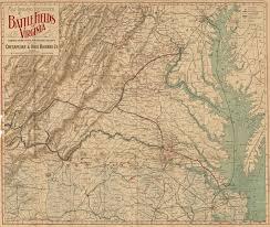 Roanoke Virginia Map by