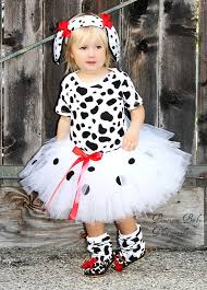12 18 Month Halloween Costumes Custom Boutique 101 Dalmatian Inspired Tutu 3 6 9 12 18 2t 3t