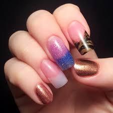 nail week 5 acrylics ahoy chalkboard nails bloglovin u0027