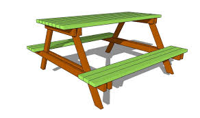 Free Wooden Picnic Table Plans by Picnic Table Plans Free Youtube