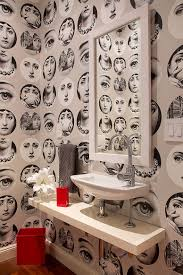 Small Powder Room Wallpaper Ideas Always On Trend 20 Powder Rooms In Black And White
