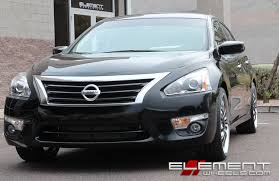 nissan altima 2013 accessories 20 inch helo he875 chrome with gloss black accents on 2015 nissan