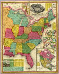 Unite States Map by Map Of The United States David Rumsey Historical Map Collection