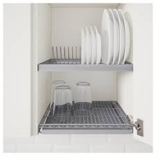 Kitchen Cabinets Plate Rack Utrusta Dish Drainer For Wall Cabinet 40x35 Cm Ikea