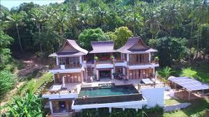 perfect view pool villa exclusive private pool villa youtube