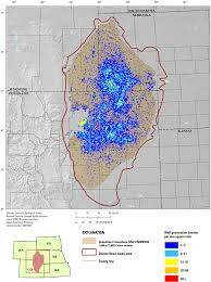 Colorado Unit Map by Geologic Framework For The National Assessment Of Carbon Dioxide