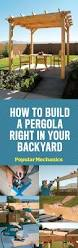 How To Build A Small Shed Step By Step by How To Build A Pergola Step By Step Diy Building A Pergola