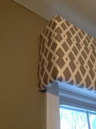 fabric covered cornice board u0026 how to hang it shine your light