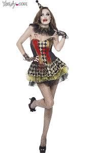 Clowns Halloween Costumes Zombie Circus Clown Costume Circus Clown Costumes Scary