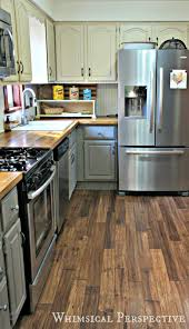 Painted Kitchen Floor Ideas Whimsical Perspective My Chalk Paint Kitchen Cabinets The Update