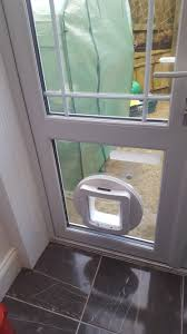 catflap in glass door cat flap fitted to glass door whitley bay d r locks u0026 glass