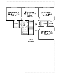 craftsman style house plan 4 beds 2 50 baths 2300 sq ft plan 21 265