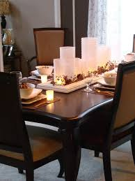 Decor For Dining Room Table Dining Room Decor Simple Dining Room Centerpiece Ideas From The