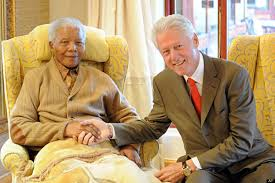 Clinton Home State by Bill Clinton Meets Bill Clinton Former President Has Lunch With