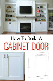 how to build a cabinet door doors learning and woodworking