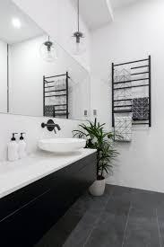 Vintage Black And White Bathroom Ideas Best 10 Black Bathrooms Ideas On Pinterest Black Tiles Black