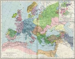 Time Change Map High Middle Ages Wikipedia
