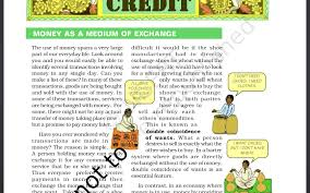 class 10th economics chapter 3 1 money and credit youtube