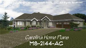 Hip Roof Ranch House Plans Midsize Contemporary Ranch Style Home Plan Ms 2144 Ac Sq Ft