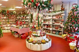 cute little christmas shop full of decorations full hd wallpaper