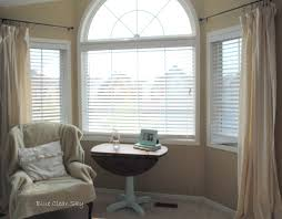 decorate u0026 design bay window curtains and blinds ideas